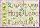 Hugs Love & Ladybugs - 14-1226