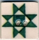 "87003 - Green Ohio Star 3/4"" x 3/4"" -  1 per pkg"