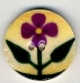 "87019 - Purple Violet on Beige 3/4"" diameter -  1 per pkg"