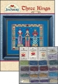 Three Kings Embellishment Pack