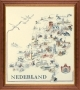 Map of Holland - (KIT)