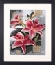 Composition of Pink Lilies - (KIT)