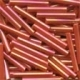 MH92055 - Red Rainbow - Bugle Beads (LRG)
