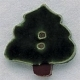 86007 - Christmas Tree 1in x 1in -  1 per pkg