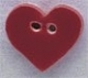 86009 - Small Red Heart 5/8in x 5/8in -  1 per pkg