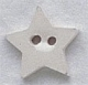 86012 - Small White Star 5/8in x 5/8in -  1 per pkg