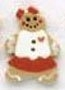 86014G - Girl Gingerbread  7/8in x 1 1/4in -  1 per pkg