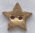86016 - Small Gold Star 5/8in x 5/8in -  1 per pkg