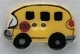 86117 - School Bus 5/8in x 1in -  1 per pkg