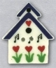 86131 - Song Birdhouse 1in x 1in -  1 per pkg