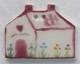 86134 - Pin Heart House 1 1/8in x 7/8in -  1 per pkg