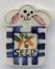 86137 - Bunny Seed Packet 3/4in x 1in -  1 per pkg