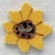 86138 - Large Sunflower 7/8in x 7/8in -  1 per pkg