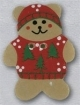 86157 - Teddy Bear In Red Sweater 3/4in x 1in -  1 per pkg