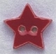 86178 - Small Red Star 5/8in x 5/8in -  1 per pkg
