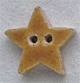 86246 - Very Small Speckled Gold Star 1/2in x 1/2in -  1 per pkg