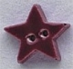86247 - Very Small Burgandy Star 1/2in x 1/2in -  1 per pkg