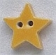 86288 - Very Small Bright Yellow Star 1/2in x 1/2in -  1 per pkg