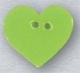 86398 - Small Lime Heart 5/8in x 5/8in -  1 per pkg