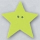 86403 - Large Lime Star 1in x 1in -  1 per pkg