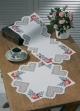 Heart Hardanger Table Topper (bottom) - (KIT)