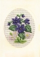 Card/Envelope - Violet - Permin #171170