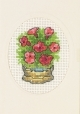 Bucket with Flowers Greeting Card (Kit)