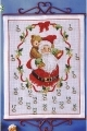 Advent Calendar - Santa Claus - Permin #341213