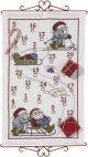 Advent Calendar - Santa Skis Sleigh - (KIT#341876)