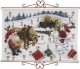 Advent Calendar - Horses in Snow - (KIT#342623)