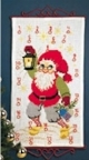 Advent Calendar - Santa With Lantern - Permin #344215