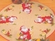 Santa With Animals Tree Skirt - Permin #453255