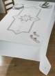 Star Hardanger Table Cloth - (KIT)