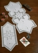 Star Hardanger Table Topper - (KIT)
