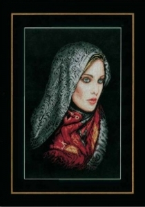 Woman in Veil, Lanarte kit