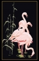Feeding Flamingos - #GOK1070B Thae G. KIT