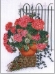 Rose Hydrangea With Fence - #GOK2036 Thae G.