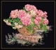 Pink Hydrangea In A Basket - #GOK2047B Thae G. KIT