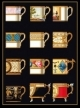 Ornamental Cups - #GOK3022B Thae G. KIT