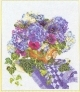 Blue Floral Arrangement - #GOK3025 Thae G.