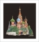 St. Basils Cathedral Moscow (aida black) - (KIT)