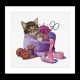 Sewing Basket Kitten - (KIT)