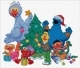 Sesame Street Christmas - (KIT)
