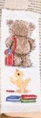 School Bear II - Bookmark (Kit)