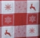 Table Runners-Red & White-23in x 72in