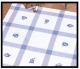 Tablecloths-Blue Squares-34in x 34in