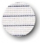 Canvas - Waste - 16ct - White - Blue Stripe Salvage