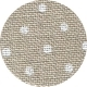 Linen - Belfast Petit Point - 32ct - Raw Natural with White Poin