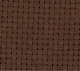 Monks Cloth - 7ct - Dark Brown