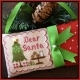 Dear Santa Country Cottage Ornaments - CCNCC2
